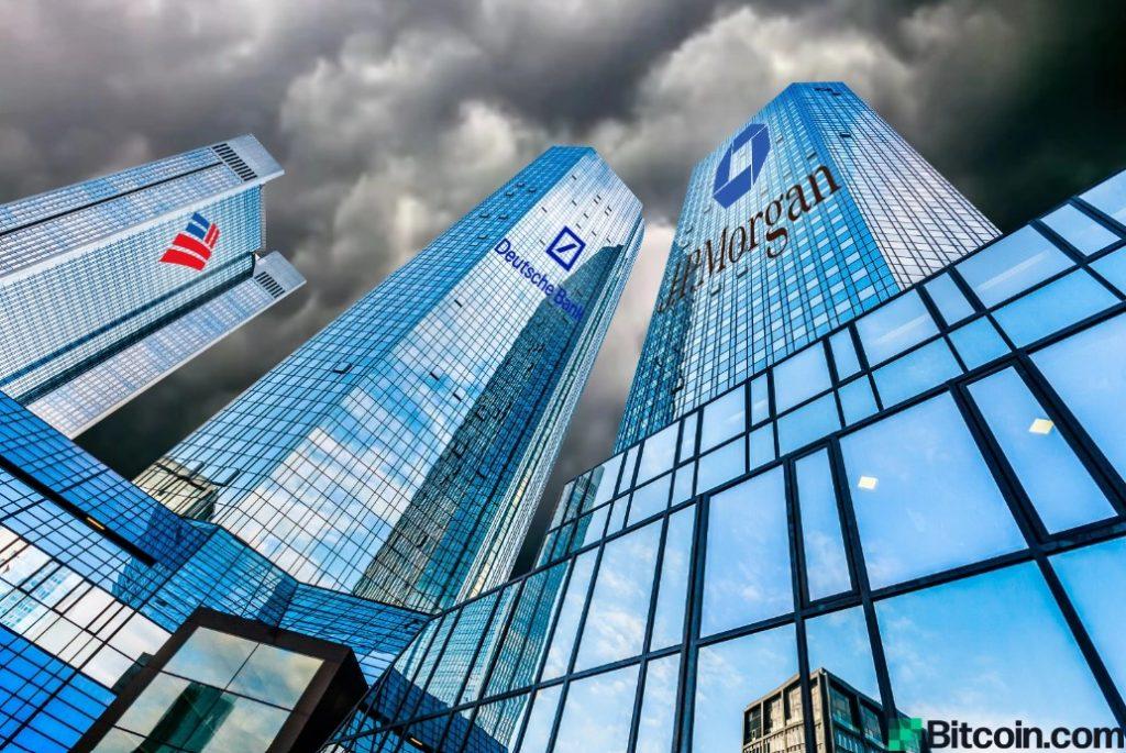 JPモルガン、バンク・オブ・アメリカ、ドイツ銀行、大不況を予測
