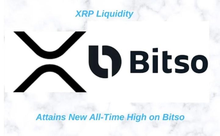 XRPは$ 0.21を超えて取引され、XRP流動性はメキシコのBitsoの記録を破ります