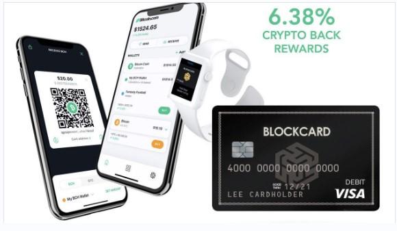 最高の暗号化デビットカード-BlockCard