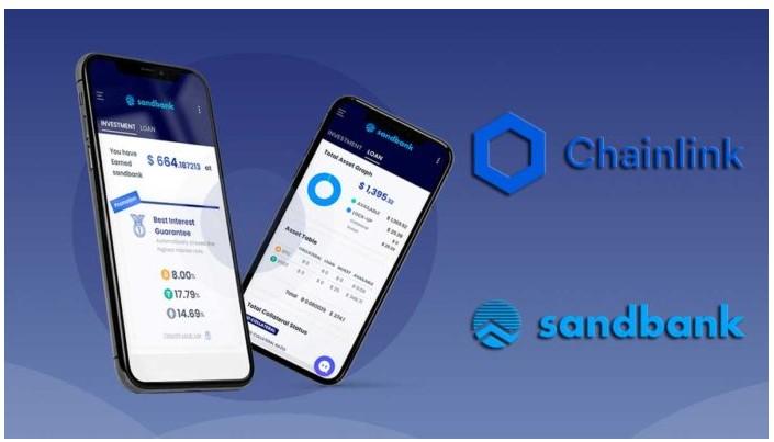 SandbankがChainlink OraclesをプラットフォームのPower DeFiに統合