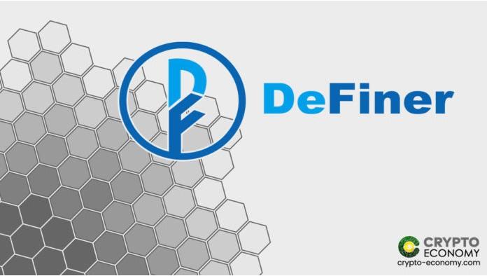 DeFinerは、オラクルがDefi普通預金口座に提供するものとしてチェーンリンクを選択しました