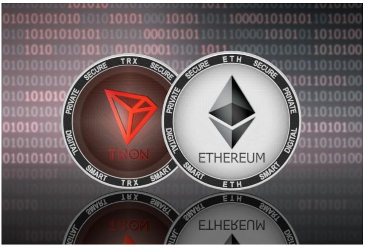 Tron vs. Ethereum – Justin Sun:「TRC-USDTは毎日のトランザクション数でERC-USDTを上回りました」