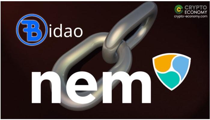 BidaoとのNEMパートナーシップにより、XEMを担保資産にすることができます