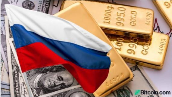 プーチンが脱ドル化に焦点を合わせているため、金はロシアの準備金で米ドルを超える