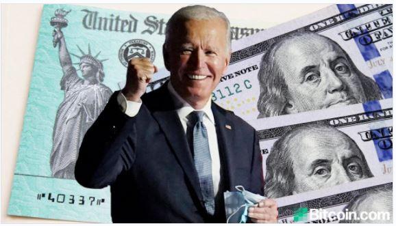 バイデン米大統領がさらなる刺激政策を追加、今週は100万ドルの「プラスアップ」支払いが行われる