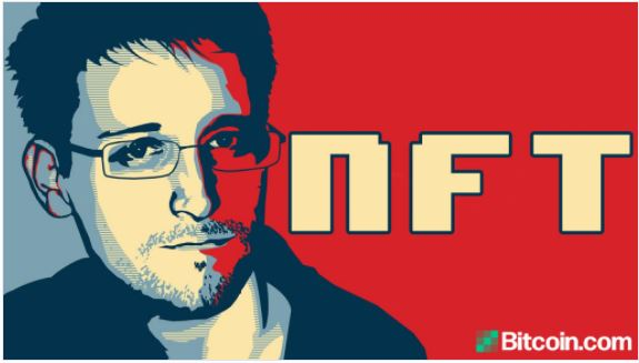 エドワード・スノーデンはNFTのオークションを計画しており、収益は報道の自由財団に寄付されます