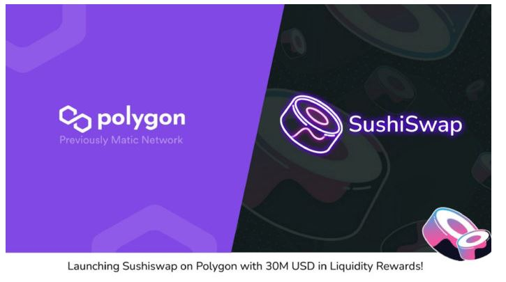SushiSwapがPolygonでライブになりました