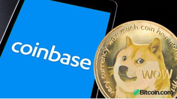 Coinbaseが6〜8週間でドージコインをリストアップ、CEOが明らかに