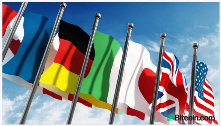 G7財務長官は今年、州が発行するデジタル通貨の共通ルールを公表する予定