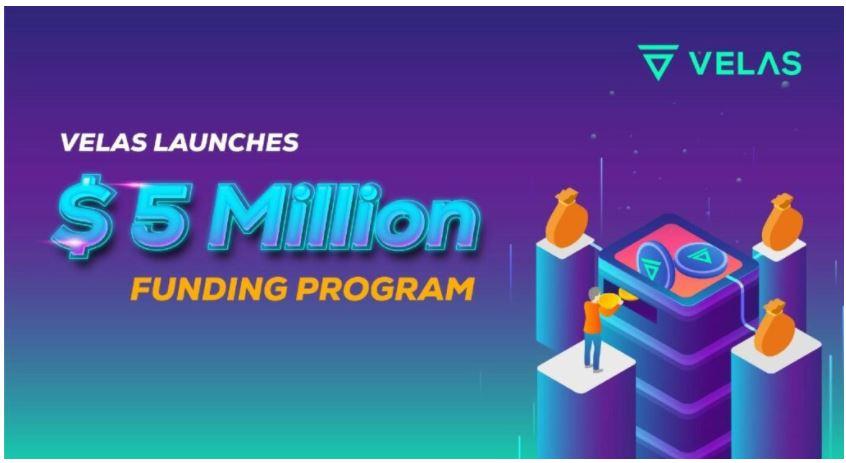 Velasが500万ドルの資金調達プログラムを開始