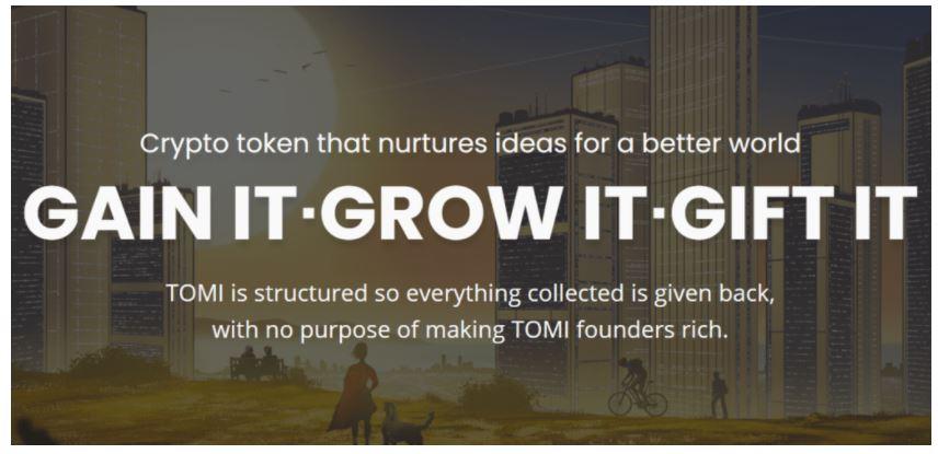 IDOを成功させたTOMIトークンは順調なスタートを切った